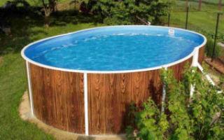 Какой бассейн выбрать для дачи